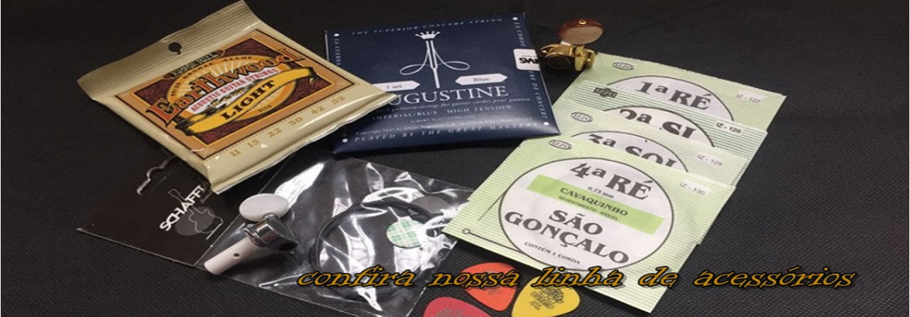 Carlinhos Luthier - Acessórios