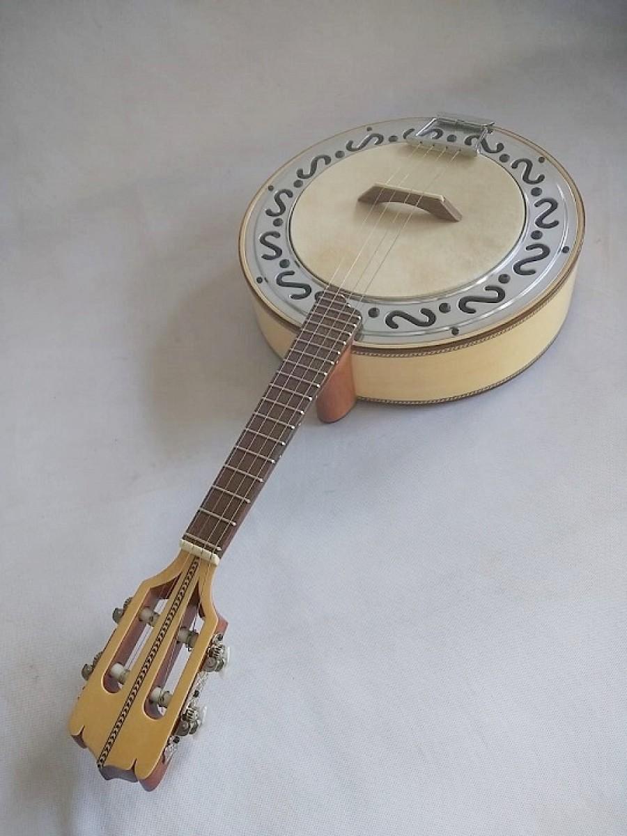 Banjo nº1 de Marfim (prazo de 45  a 60 dias ÚTEIS para CONTRUÇÃO) **FAVOR, OLHAR A DESCRIÇÃO**