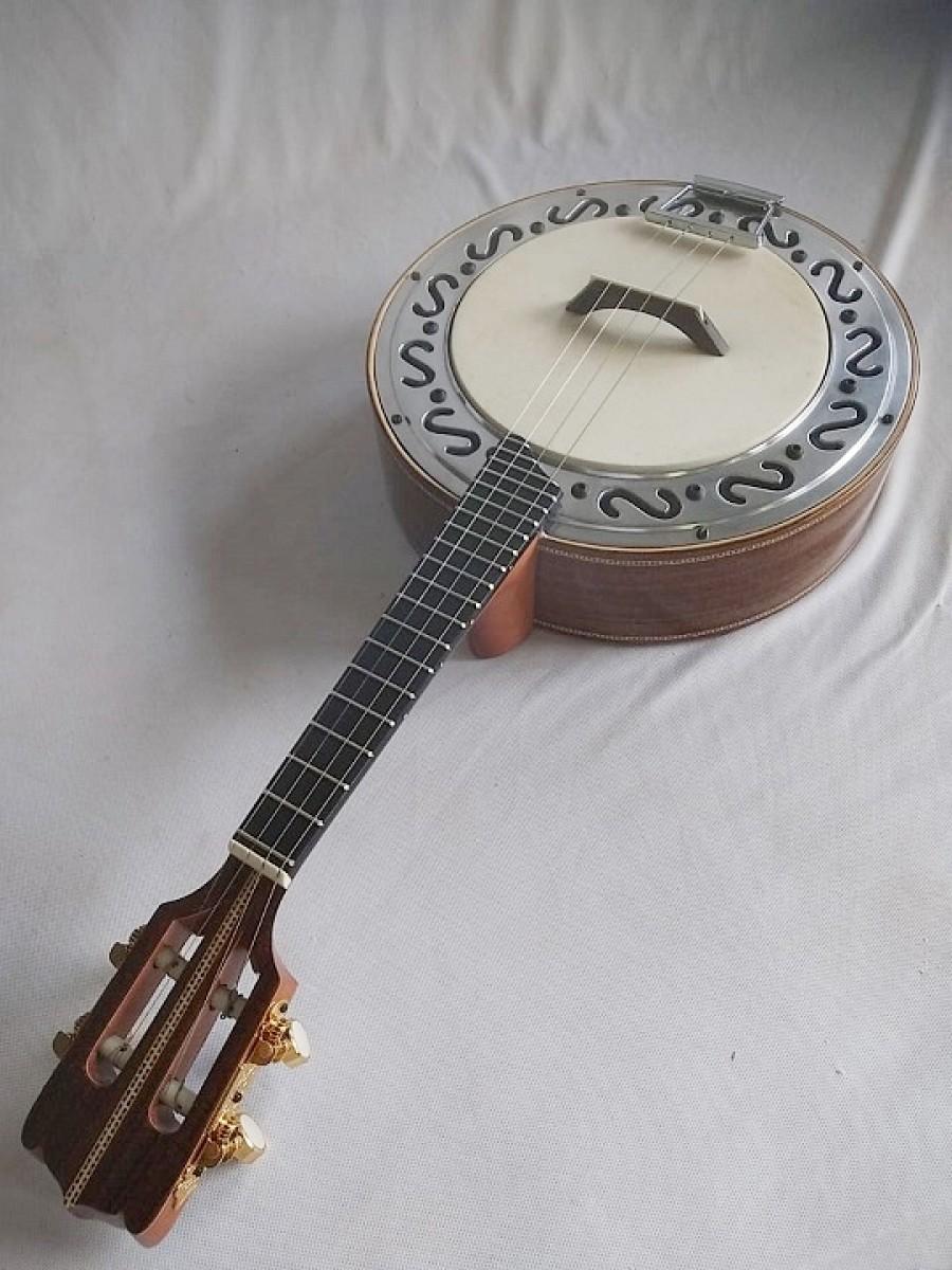 Banjo nº2 de Louro Preto (45 a 60 dias ÚTEIS para CONTRUÇÃO) **FAVOR, OLHAR A DESCRIÇÃO**