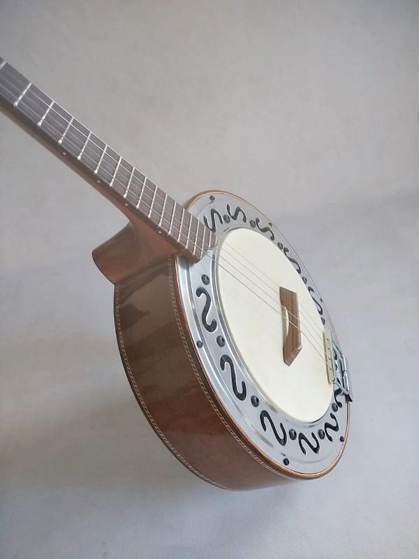 Banjo bicolor marfim/imbuia (Prazo de 45 a 60  dias ÚTEIS para CONTRUÇÃO) **FAVOR, OLHAR A DESCRIÇÃO**