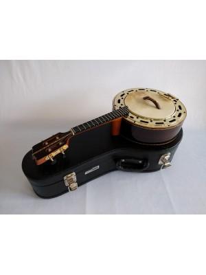 Banjo n°3 de Jacarandá com prato dourado (45 A 60 DIAS ÚTEIS PARA ENVIO)