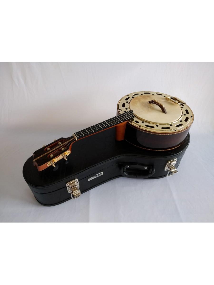 Banjo n°3 de Jacarandá com prato dourado (45 A 60 DIAS ÚTEIS PARA CONTRUÇÃO) **FAVOR, OLHAR A DESCRIÇÃO**