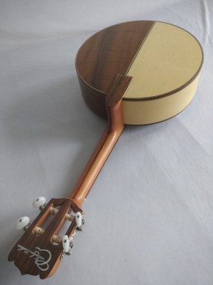 Banjo bicolor marfim/imbuia (Prazo de 45 a 60  dias ÚTEIS para envio)